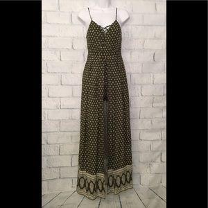 NWT Romeo & Juliet olive romper/dress
